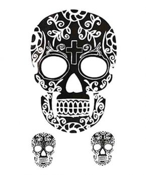 tatuaje temporal calavera mexicana feel tattoo