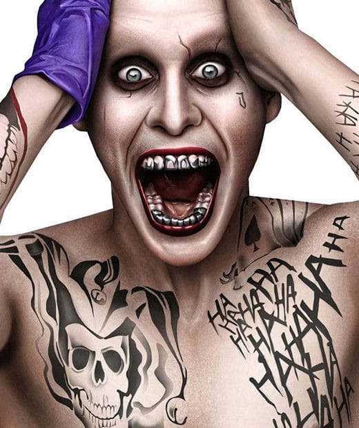 tatuaje temporal joker modelo feel tattoo