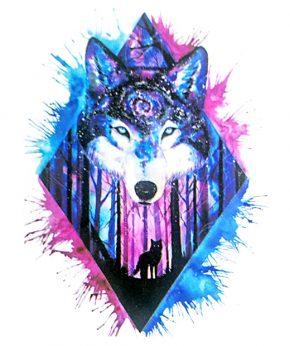 tatuaje temporal lobo cosmos